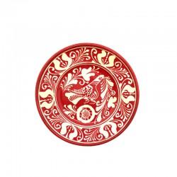 Farfurie din ceramică colorată de Corund