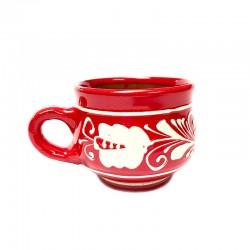Ceașcă din ceramică roșie de Corund