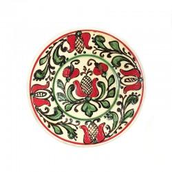 Farfuriuță din ceramică colorată de Corund