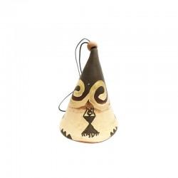 Clopoțel din ceramică de Cucuteni - Marea Zeiță