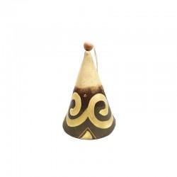 Clopoțel din ceramică de Cucuteni - Spirala Vieții