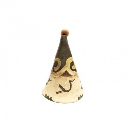 Clopoțel din ceramică de Cucuteni - Pasărea Măiastră