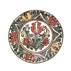 Farfurie din ceramică albă de Corund Ø 160 mm M5534