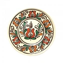 Farfurie din ceramică albă de Corund Ø 160 mm M5536