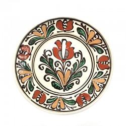 Farfurie din ceramică albă de Corund Ø 160 mm M5537