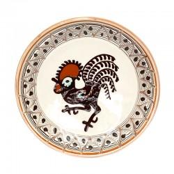 Farfurie din ceramică de Horezu - M6514