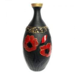 Vază pictată din ceramică neagră de Marginea M7538