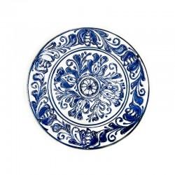 Farfurie din ceramică albă de Corund Ø 160 mm M7507