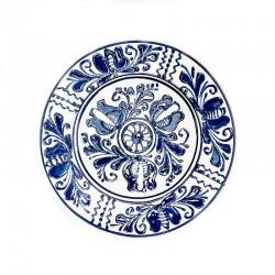 Farfurie din ceramică albă de Corund Ø 160 mm M7508