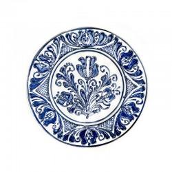 Farfurie din ceramică albă de Corund Ø 160 mm M7509