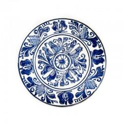 Farfurie din ceramică albă de Corund Ø 160 mm M7510