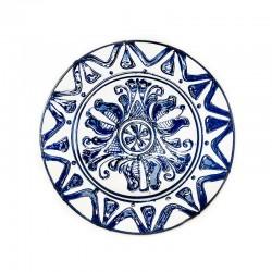 Farfurie din ceramică albă de Corund Ø 160 mm M7511