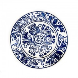 Farfurie din ceramică albă de Corund Ø 160 mm M7512