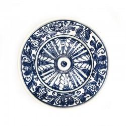 Farfurie din ceramică albă de Corund Ø 160 mm M7514